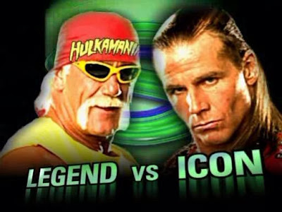 WWE SummerSlam 2005 Hulk Hogan Legend vs Shawn Michaels Icon