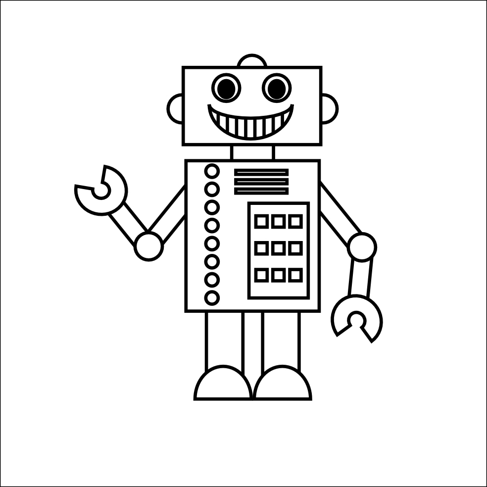 Smart image for printable robot