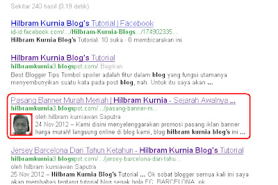 Cara Mudah Menampilkan Foto Pada Hasil Pencarian Google