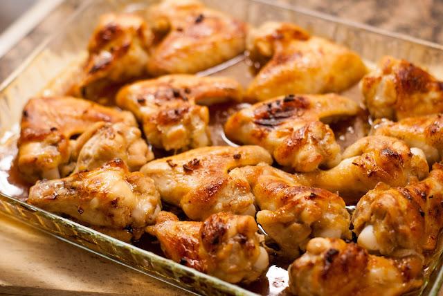 kip uit de oven oven chicken honing