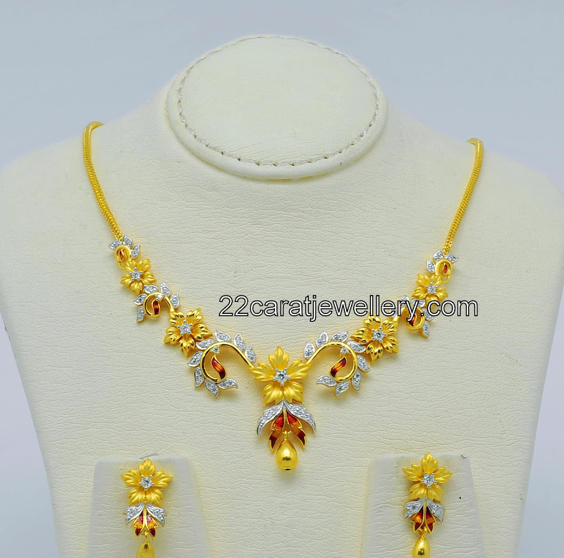 Great Malabar Gold Designs Of Necklace Ideas - Jewelry Collection ...