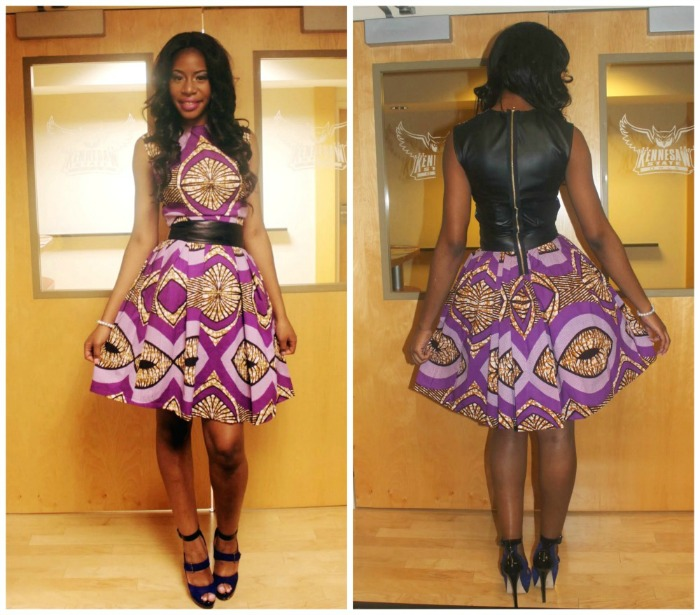 Check Out This Trendy Ankara Short Gown For Ladies Debonke House Of Fashion