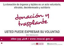 Donar Organos es Dar Vida