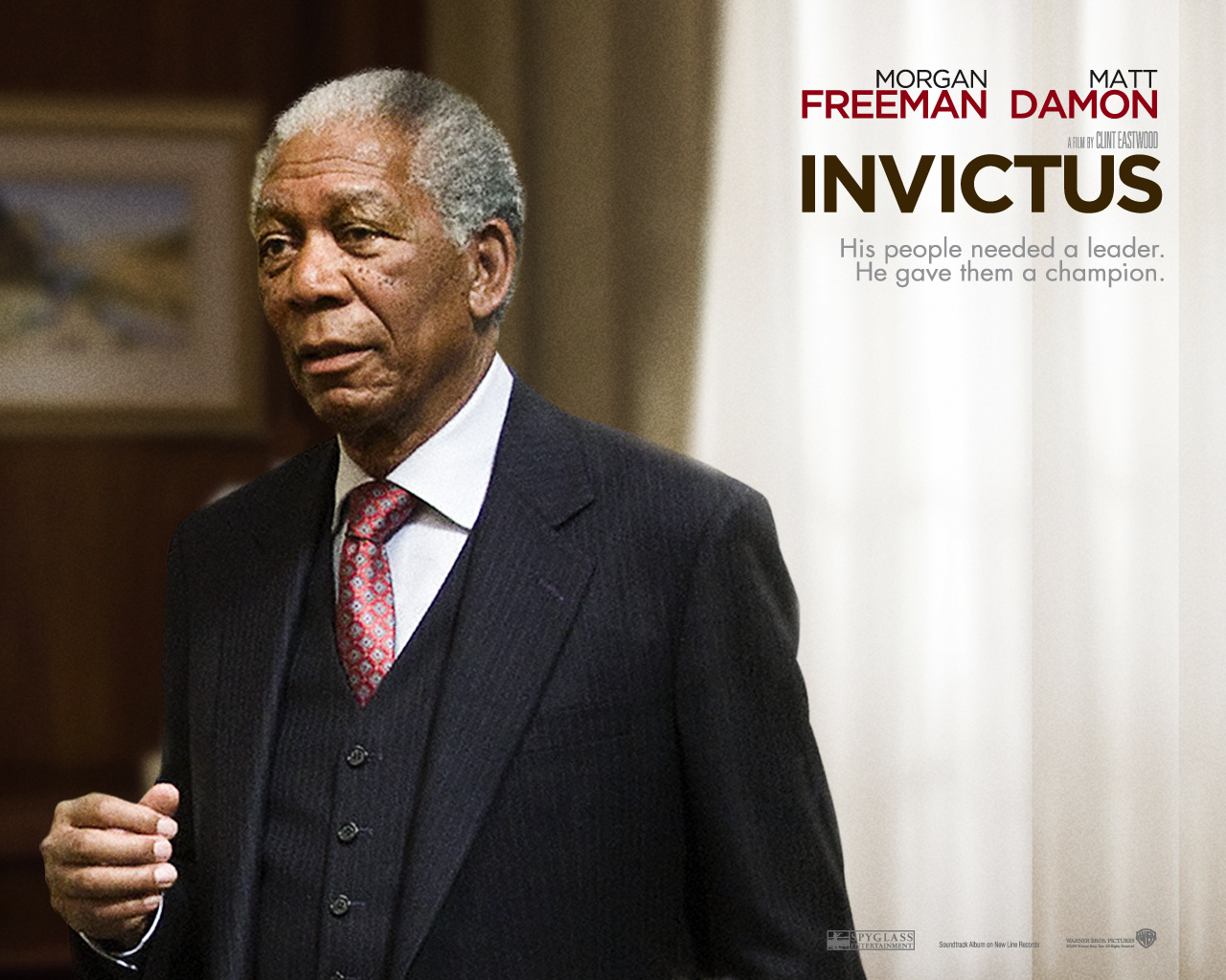 "nelson mandela invictus From director clint eastwood, ""invictus"" tells the inspiring true story of how nelson mandela (morgan freeman) joined forces with the captain of south africa's rugby team, francois pienaar (matt damon), to help unite their country."