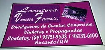 Vanessa Fernandes Locutora