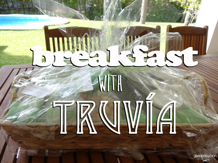 desayuno truvía breakfast truvia