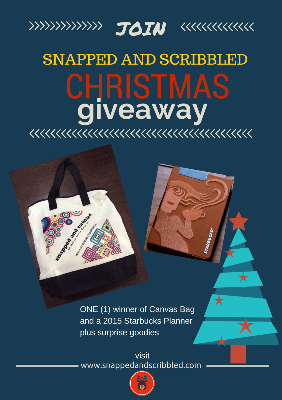 Snapped and Scribbled Christmas Giveaway