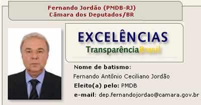 Fernando Jordão - Suplente Dep. Federal
