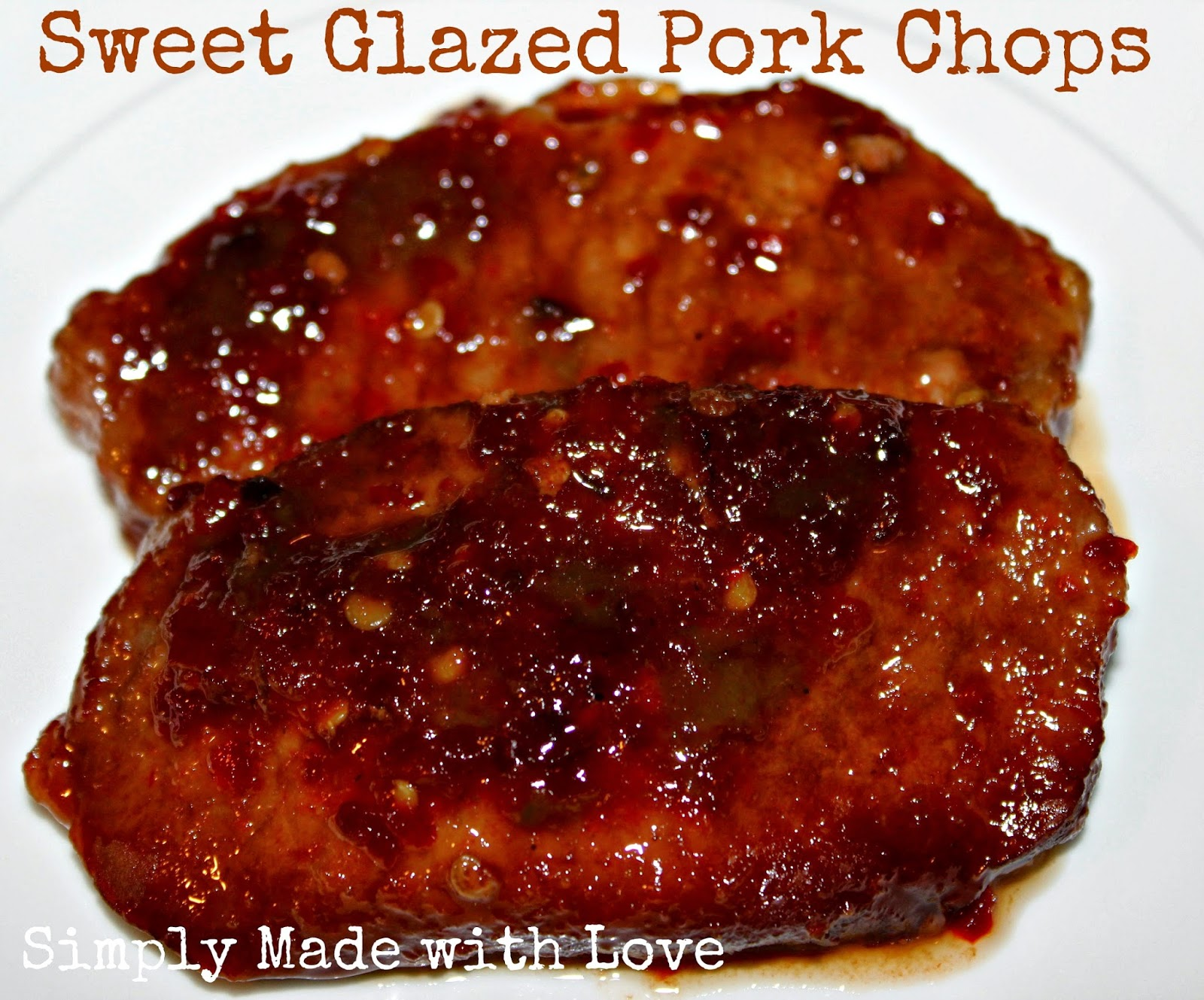 simply made with love: {crock pot recipe} Sweet Glazed Pork
