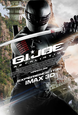 G.I. Joe: Retaliation 3D Character Movie Posters - Ray Park as Snake Eyes