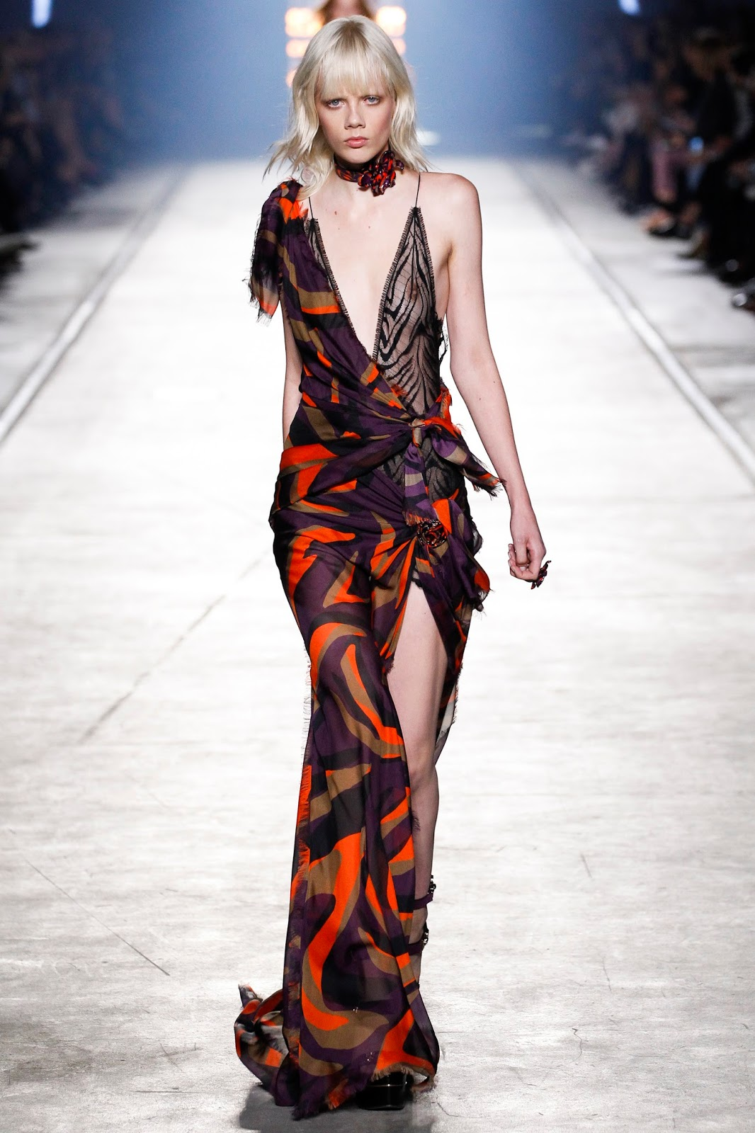 Gown General Versace Spring Summer 2016