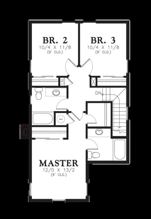 azlankamil desain rumah type 45 modern 2 lantai untuk