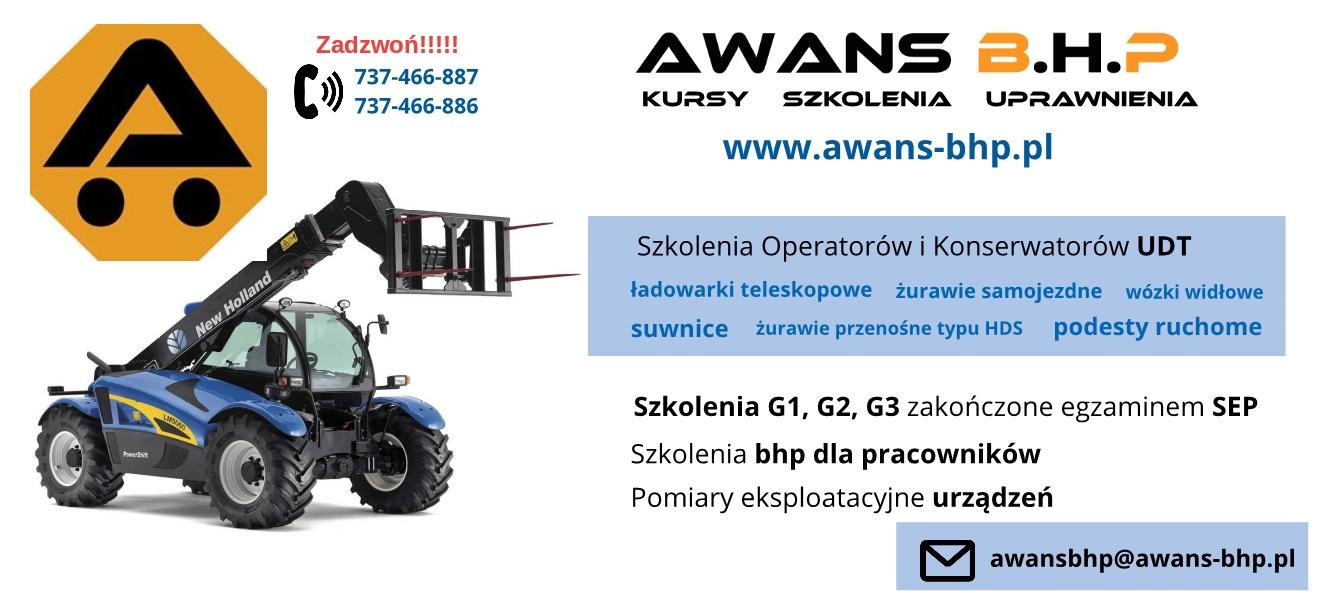 Awans B.H.P. firma szkoleniowa z Łodzi