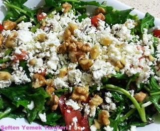 lorlu salatalar cevizli nasılyapılır