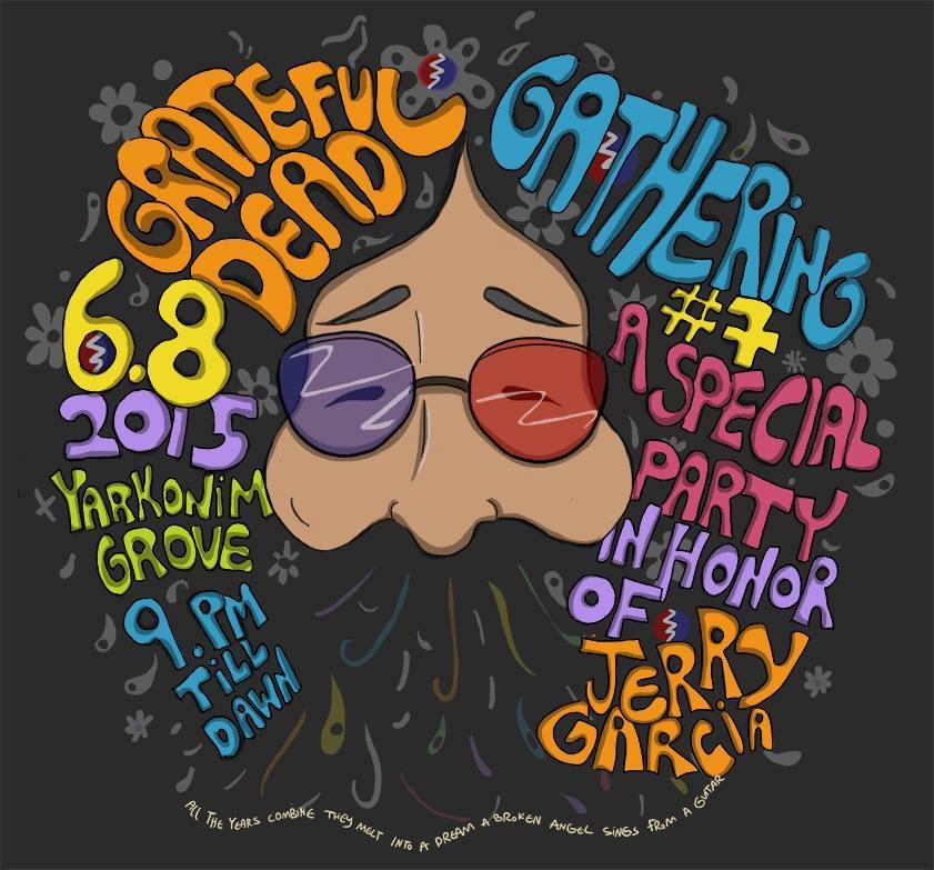 Grateful Dead Gathering Israel