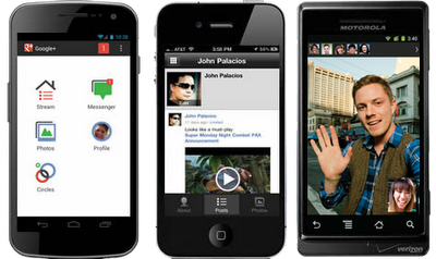 Download Google+ plus Application For Mobile Phone