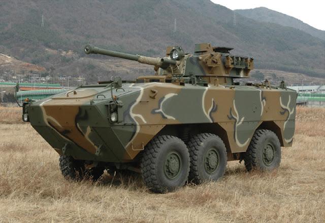 Korea Selatan Segera Kirim Panser Tarantula Pesanan TNI AD