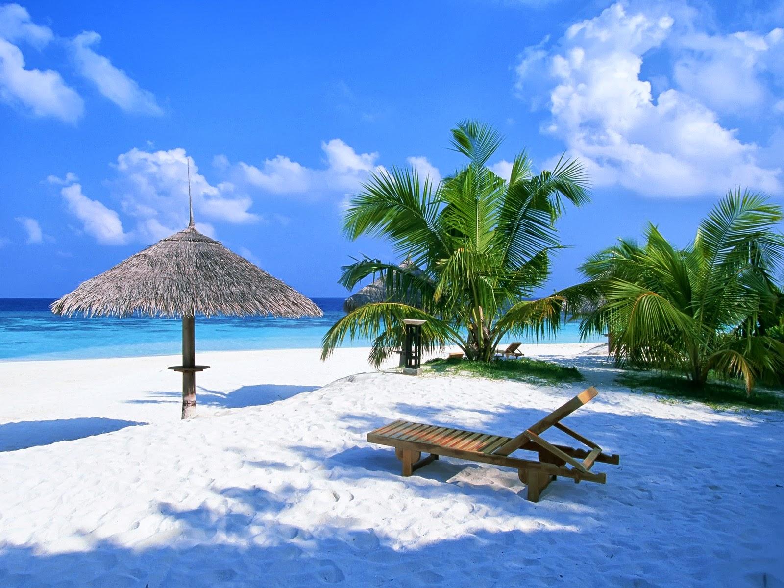 Enjoy make up concours op ration hello sunshine - Image de plage paradisiaque ...