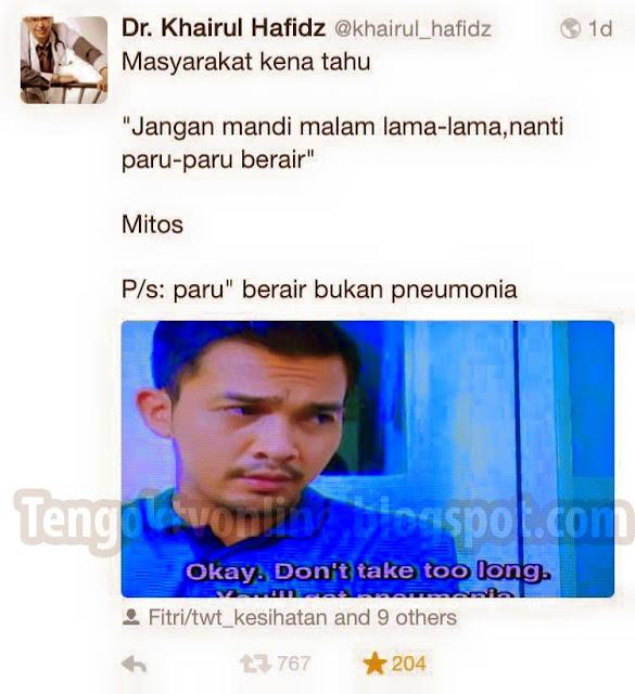 Doktor Tegur Drama Filem Popular Melayu Salah Guna Alat Perubatan