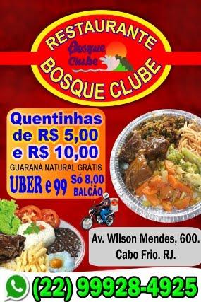 Restaurante Bosque Clube Cabo Frio