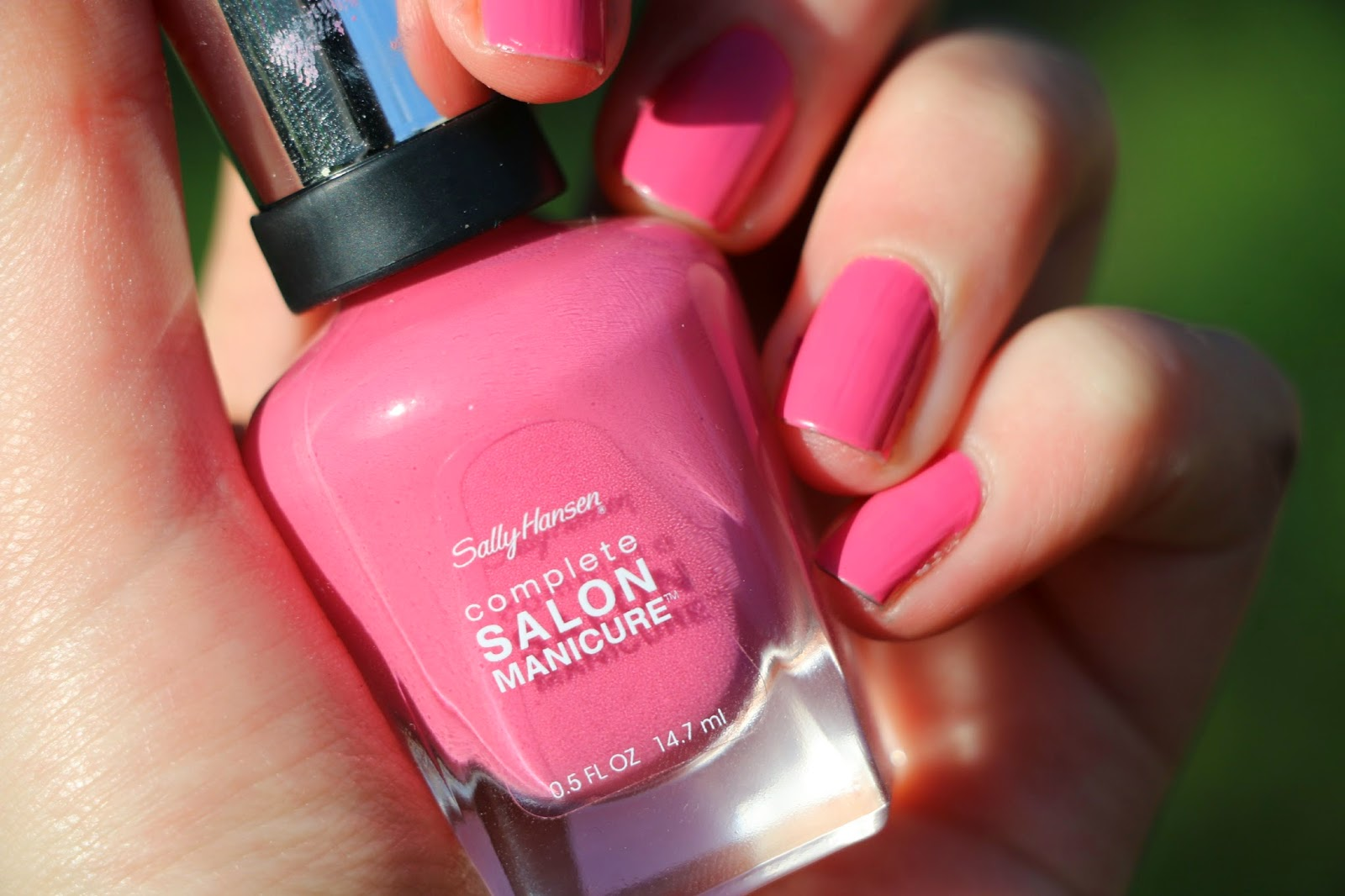 Youreview sally hansen complete salon manicure in rosy for Salon manicure