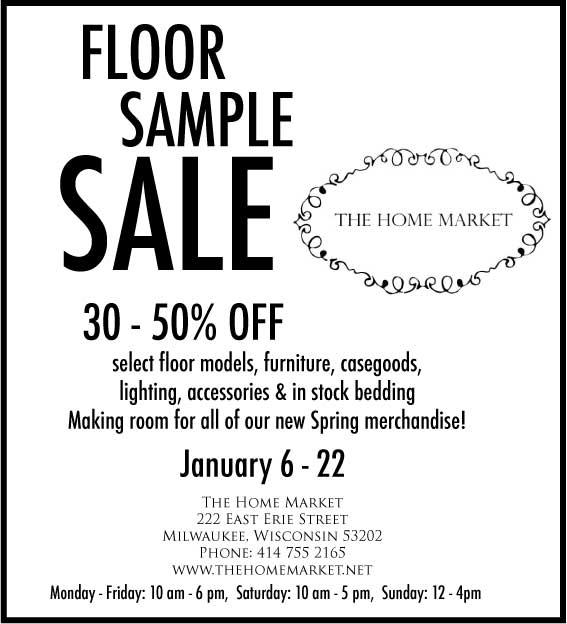 The Home Market Floor Sample Sale