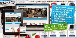 Download gratis OkeStore Theme - Version 1.0 Terbaru