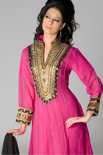 Stand Collar Neck Designs For Salwar Kameez : Salwar kameez neck designs fashion