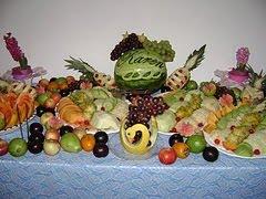 Mesa de Frutas completa para 100 pessoas