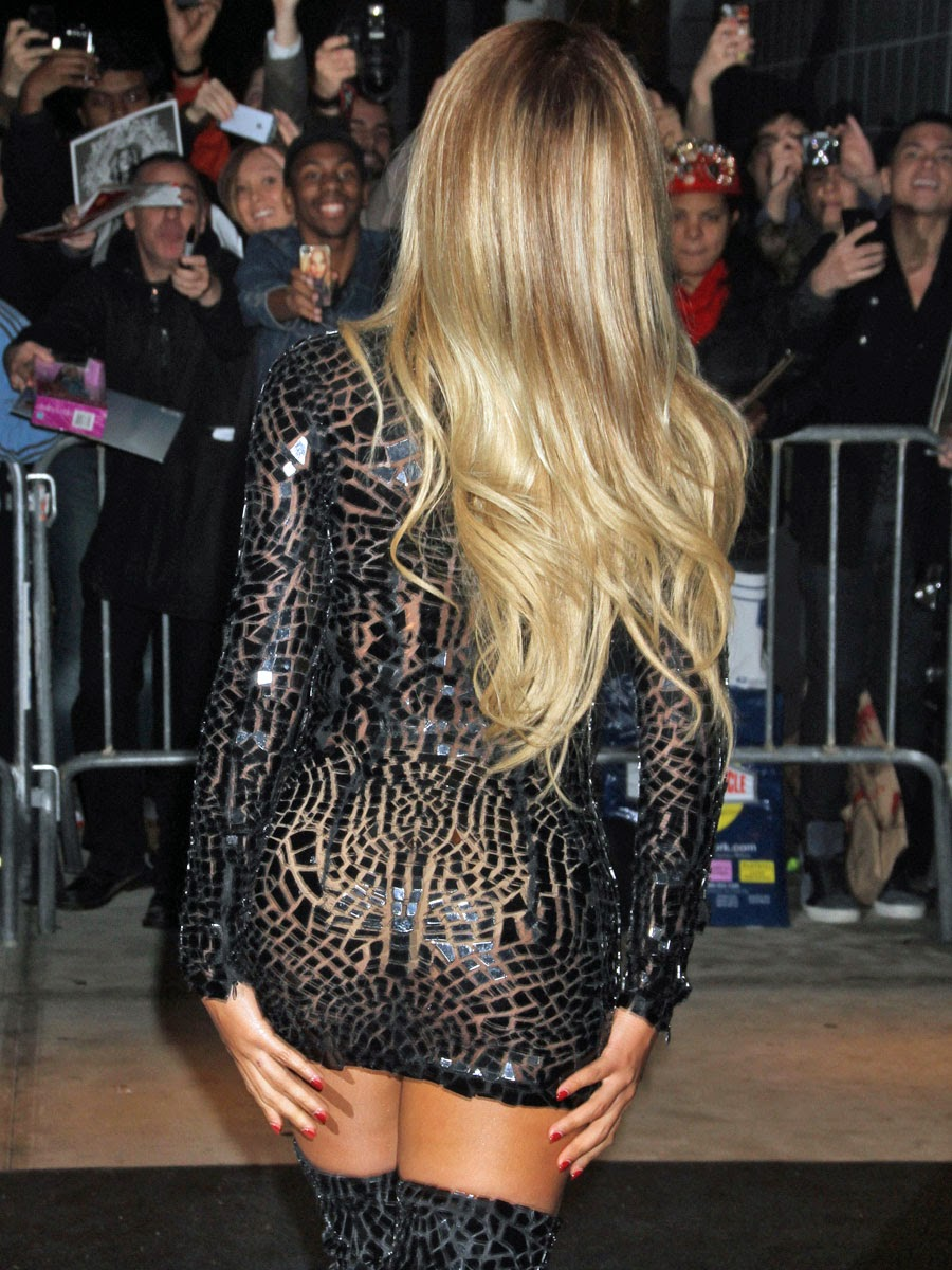 Beyonce looking like a hooker at the beyonce album party in new york