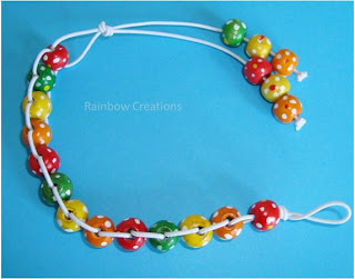 Children Wooden Beaded Bracelet