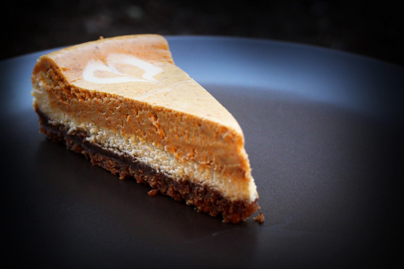 Pumpkin Cheesecake - Homemade Toast