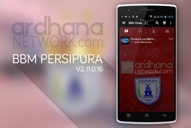 BBM Persipura - BBM Android V2.11.0.16