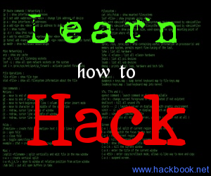 Learn How to hack eBook