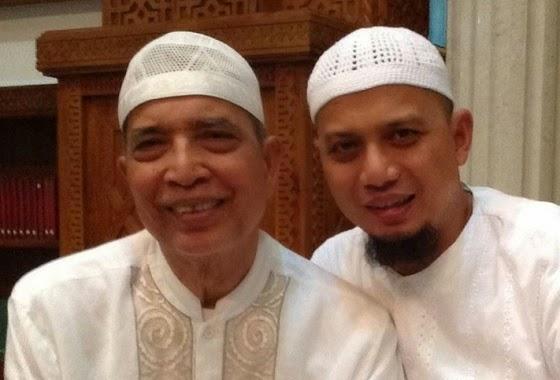 Ustadz Arifin Ilham dan ayahanda