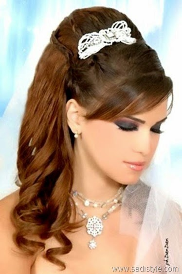 Latest Bridal Casual Party Hair Styles New Fashion Style