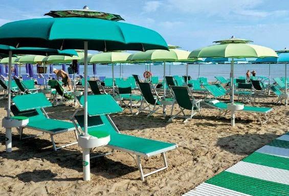Consigli pratici: Ombrellone da spiaggia che resiste alle raffiche ...