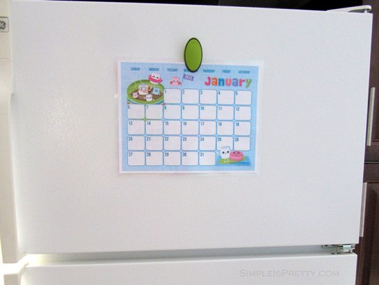 simpleispretty.com: Hellocuteness.com Printable on Fridge