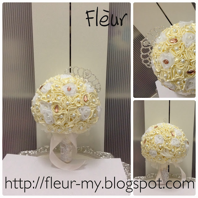 Princess Bouquet with Crown by Fleur
