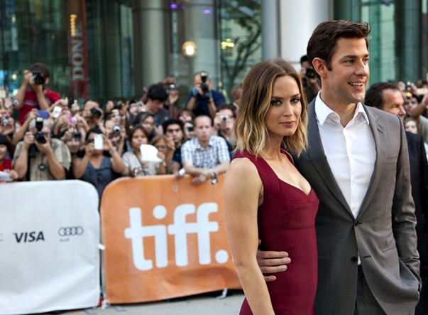 Emily Blunt  John Krasinski TIFF Red Carpet