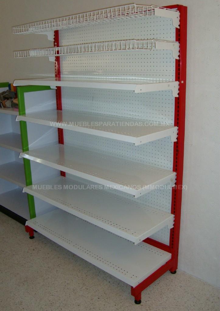 Estanteria metalica muebles metalicos y anaqueles metalicos for Muebles para negocio de ropa