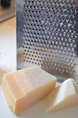 Pecorino Cheese with grater