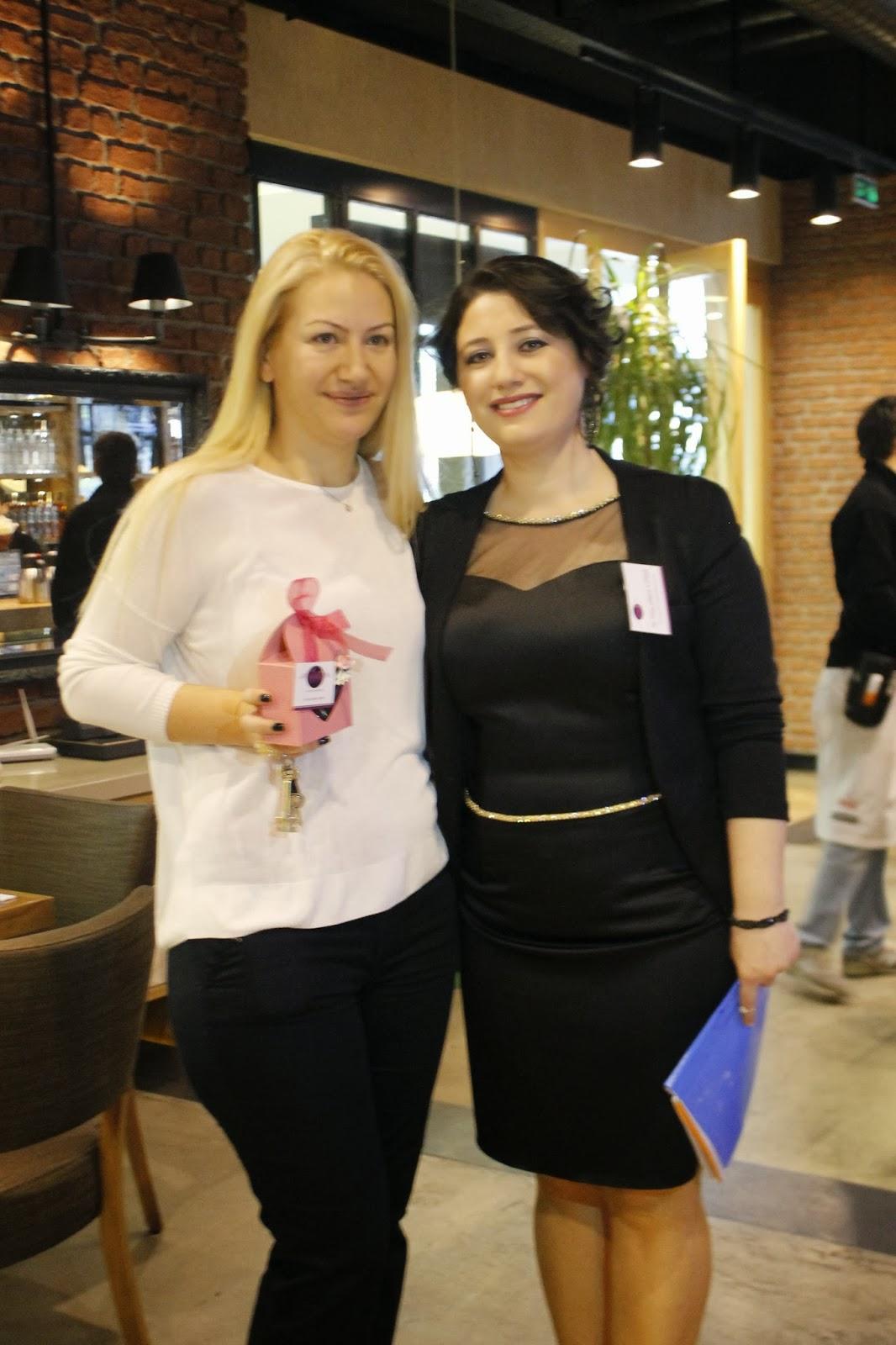 Tarçın Pasta Evi Blogger Buluşması