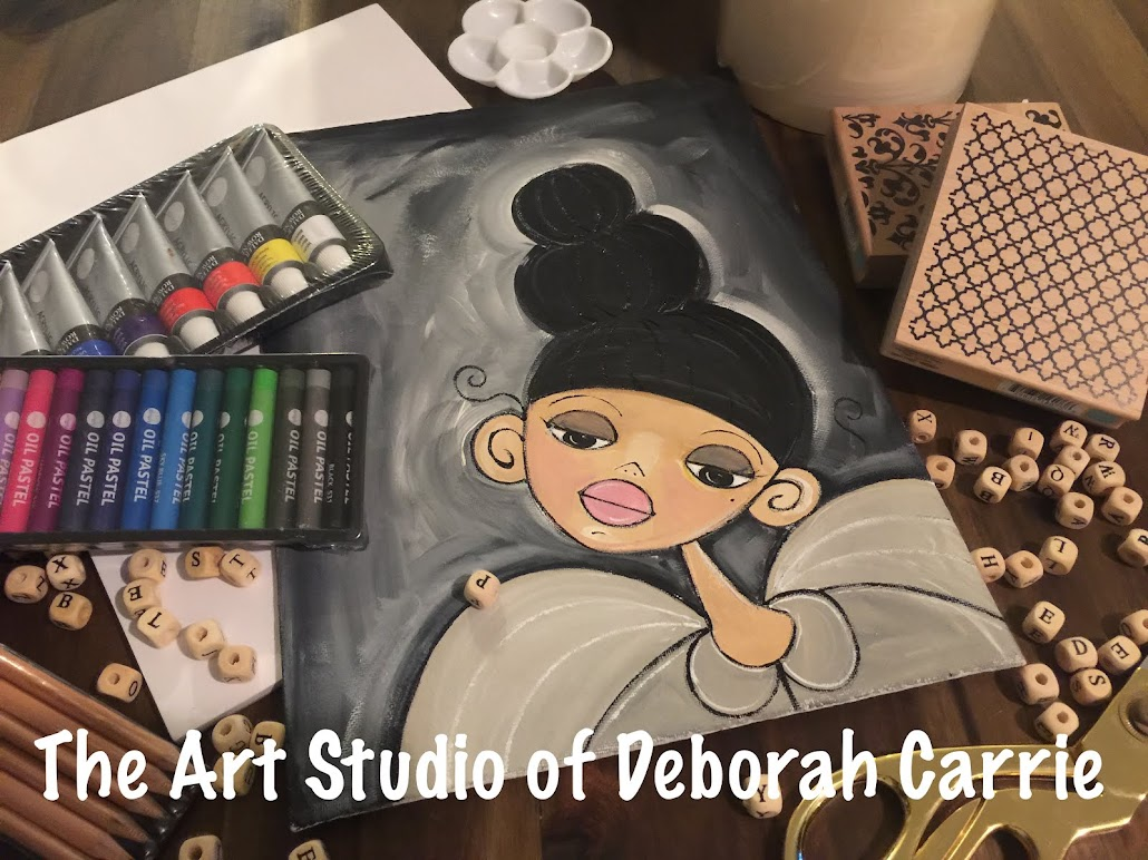 The Art Studio of Deborah Carrie