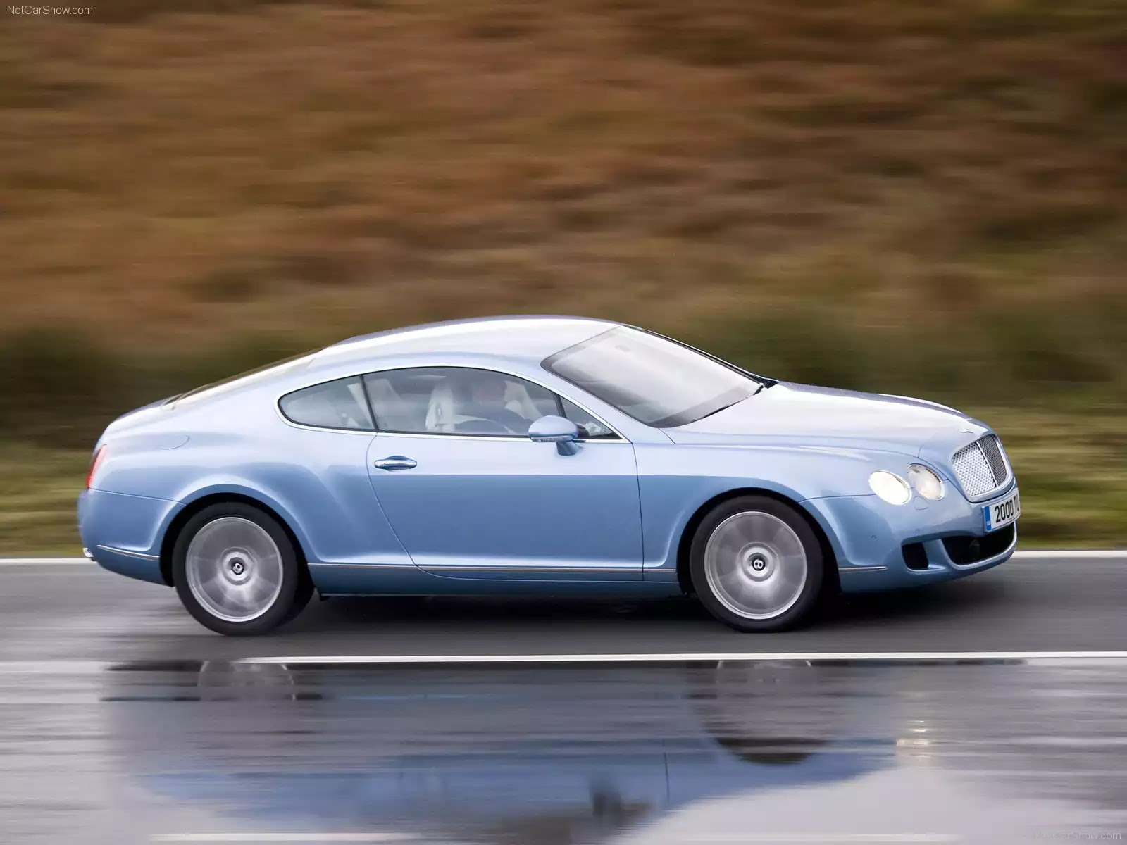 Hình ảnh xe ô tô Bentley Continental GT 2009 & nội ngoại thất