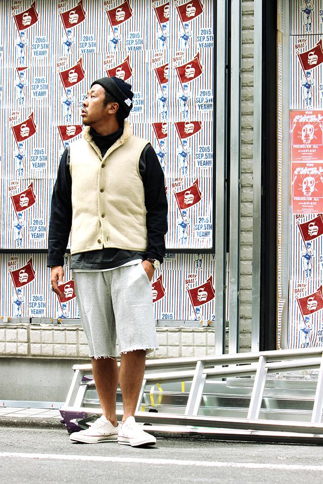 """ts(s) """"Back Boa Liner Vest"""" size 2 19,440yen"""