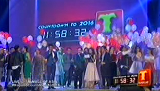Kapuso Countdown to 2016, the GMA Network New Year Special at SM Mall of Asia