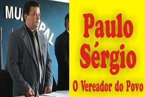 Vereador Paulo Sergio