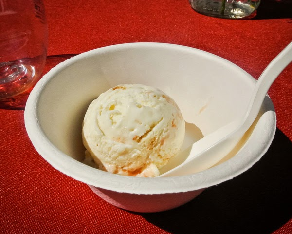 Jeni's Ice Cream at Music City Eats Food Festival in Nashville Tennessee