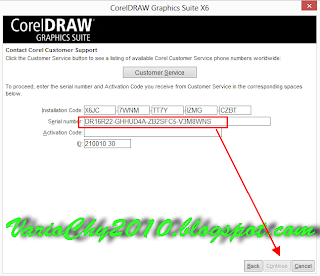 serial Coreldraw x6